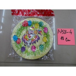 N58-04 FARFURII PARTY 18 CM SET 10 BUC