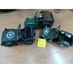 P02-03 JEEP ARMY METAL 30 CM