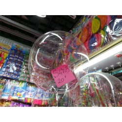 S47-03 BALON TRANSPARENT 20 INCH